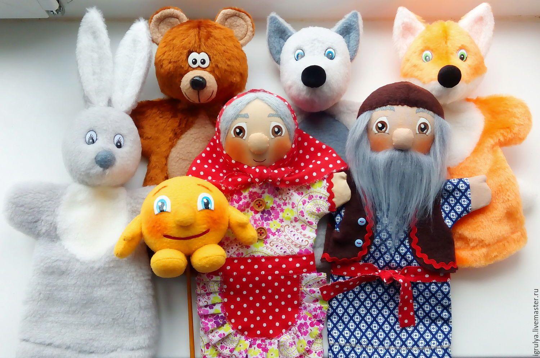 Мастер-класс: по изготовлению куклы-перчатки