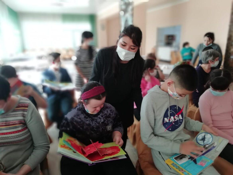 """Встреча с воспитанниками центра """"Ульба"""""""